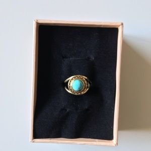 Jewelry - Pamela Love Diosa Gold & Turquoise Ring
